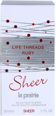La Prairie Life Threads Sheer Ruby Eau de Toilette pentru femei 4