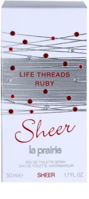 La Prairie Life Threads Sheer Ruby тоалетна вода за жени 4