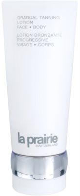 La Prairie Sun Protection lapte hidratant pentru bronzare treptata