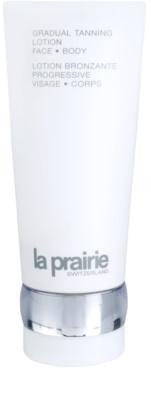 La Prairie Sun Protection leite hidratante para bronzeamento gradual