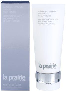 La Prairie Sun Protection hidratáló tej a fokozatos barnulásért 1
