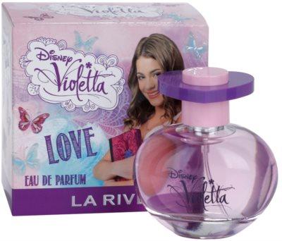 La Rive Disney Violetta Love Eau De Parfum pentru femei 1