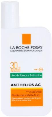 La Roche-Posay Anthelios AC fluid protector mat pentru fata SPF 30