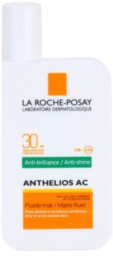 La Roche-Posay Anthelios AC fluido protector matificante para rostro SPF 30