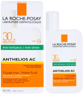La Roche-Posay Anthelios AC schützendes, mattes Fluid für das Gesicht SPF 30 1