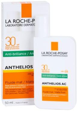 La Roche-Posay Anthelios AC fluido protector matificante para rostro SPF 30 2