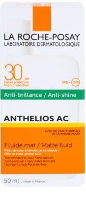 La Roche-Posay Anthelios AC fluido protector matificante para rostro SPF 30 3