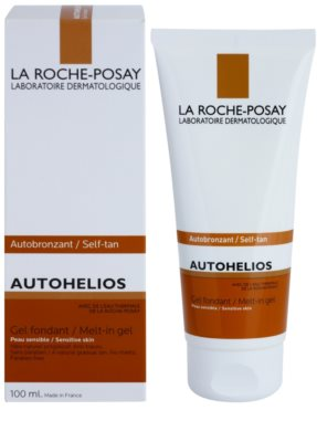 La Roche-Posay Autohelios gel hidratant autobronzant pentru piele sensibila 1