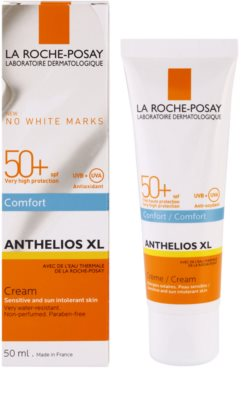 La Roche-Posay Anthelios XL creme solar facial sem perfume SPF 50+ 1