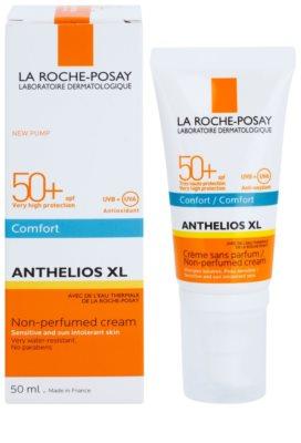 La Roche-Posay Anthelios XL parfümfreie Komfortcreme SPF 50+ 1