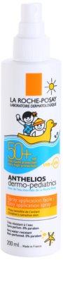 La Roche-Posay Anthelios Dermo-Pediatrics слънцезащитно мляко в спрей SPF 50+ 1