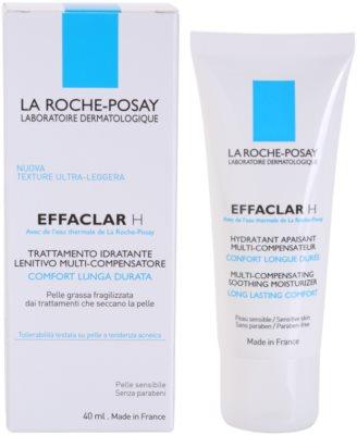 La Roche-Posay Effaclar pomirjevalna in vlažilna krema za problematično kožo, akne 2