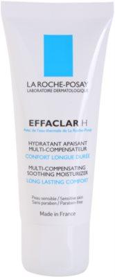 La Roche-Posay Effaclar creme hidratante e apaziguador  para pele problemática, acne