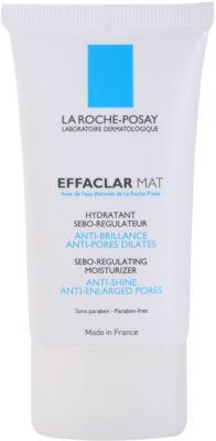 La Roche-Posay Effaclar emulsão matificante  para pele oleosa e problemática