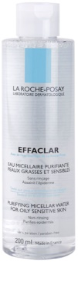 La Roche-Posay Effaclar agua micelar limpiadora para pieles problemáticas y con acné