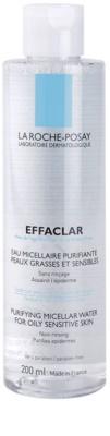 La Roche-Posay Effaclar apa pentru curatare cu particule micele pentru ten acneic