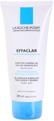 La Roche-Posay Effaclar gel de limpieza profunda para pieles grasas y sensibles