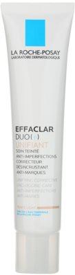 La Roche-Posay Effaclar tónusegyesítő korrekciós ápolás a bőr tökéletlenségei és a pattanások utáni hegek ellen