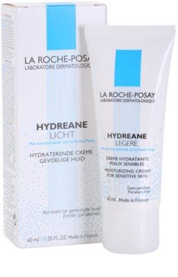 La Roche-Posay Hydreane Legere lehký hydratační krém pro citlivou pleť 1