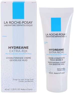 La Roche-Posay Hydreane Riche crema de hidratación profunda para pieles sensibles y muy secas 2