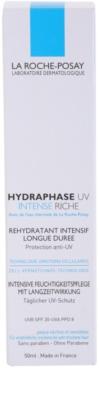 La Roche-Posay Hydraphase intenzivní hydratační krém pro suchou pleť SPF 20 4