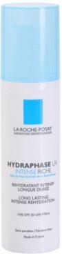 La Roche-Posay Hydraphase crema hidratante intensiva para pieles secas  SPF 20