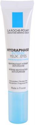 La Roche-Posay Hydraphase intensywna pielęgnacja nawilżająca skórę wokół oczu przeciw obrzękom