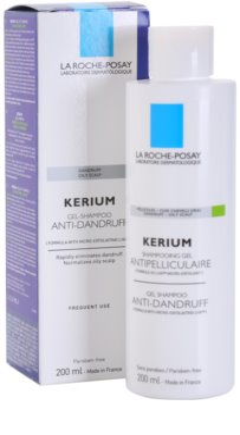 La Roche-Posay Kerium champú contra la caspa grasa 1
