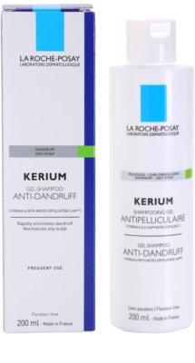 La Roche-Posay Kerium champú contra la caspa grasa 2