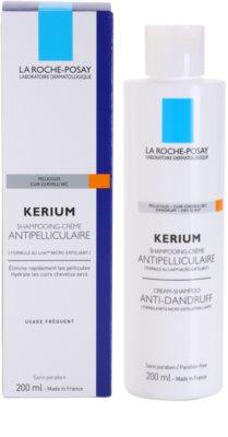 La Roche-Posay Kerium šampon proti suchým lupům 2