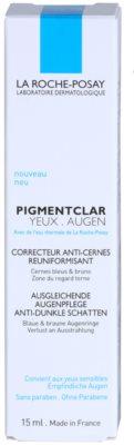 La Roche-Posay Pigmentclar crema de ochi iluminatoare impotriva pungilor de sub ochi 3
