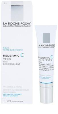 La Roche-Posay Redermic [C] crema antiarrugas contorno de ojos para pieles sensibles 1