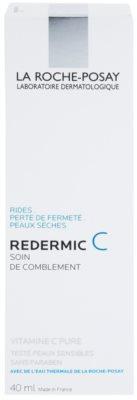 La Roche-Posay Redermic [C] Tages- und Nachtscreme gegen Falten für trockene Haut 2