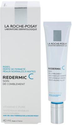La Roche-Posay Redermic [C] creme de dia e noite para tratamento antirrugas para pele normal a mista 2