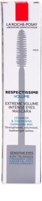 La Roche-Posay Respectissime Volume Thickening Mascara for Maximum Volume and Intense Effect For Sensitive Eyes 2