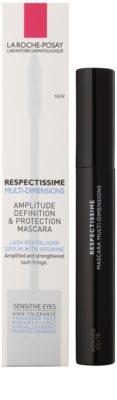 La Roche-Posay Respectissime Multi-Dimensions Mascara pentru volum maxim, definiție și protecție pentru ochi sensibili 2