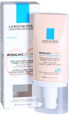 La Roche-Posay Rosaliac CC Creme für empfindliche Haut mit der Neigung zum Erröten 2