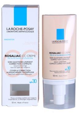 La Roche-Posay Rosaliac CC krém pre citlivú pleť so sklonom k začervenaniu 3