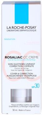La Roche-Posay Rosaliac CC Creme für empfindliche Haut mit der Neigung zum Erröten 4