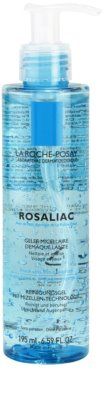 La Roche-Posay Rosaliac tisztító micelláris gél Érzékeny, bőrpírra hajlamos bőrre