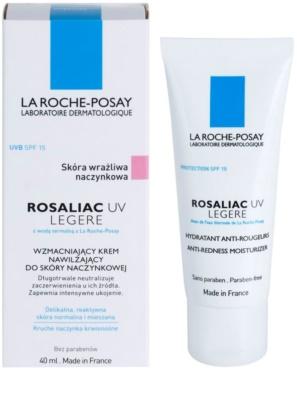 La Roche-Posay Rosaliac UV Legere krem łagodzący do skóry wrażliwej ze skłonnością do zaczerwienień SPF 15 1