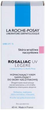 La Roche-Posay Rosaliac UV Legere krem łagodzący do skóry wrażliwej ze skłonnością do zaczerwienień SPF 15 2