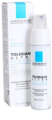 La Roche-Posay Toleriane Ultra Fluide tratamiento calmante intensivo para rostro y contorno de ojos 1