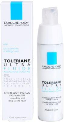 La Roche-Posay Toleriane Ultra Fluide intensive beruhigende Pflege für Gesicht und Augenpartien 3