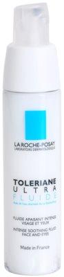 La Roche-Posay Toleriane Ultra Fluide intenzivna pomirjajoča nega za obraz in predel okoli oči