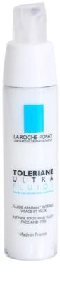 La Roche-Posay Toleriane Ultra Fluide intenzivní zklidňující péče na obličej a oční okolí