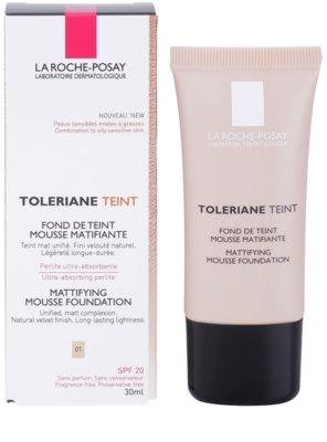 La Roche-Posay Toleriane Teint mattító hab állagú make-up kombinált és zsíros bőrre 1