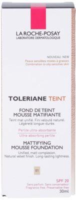 La Roche-Posay Toleriane Teint mattító hab állagú make-up kombinált és zsíros bőrre 2