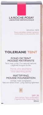 La Roche-Posay Toleriane Teint base espumosa matificante  para pele mista e oleosa 2