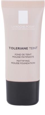 La Roche-Posay Toleriane Teint base espumosa matificante  para pele mista e oleosa